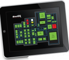 Sielox Class Crisis Alert Software on iPad; Crisis Lockdown System